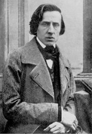 Photograph of Chopin daguerreotypeby Bisson, c. 1849