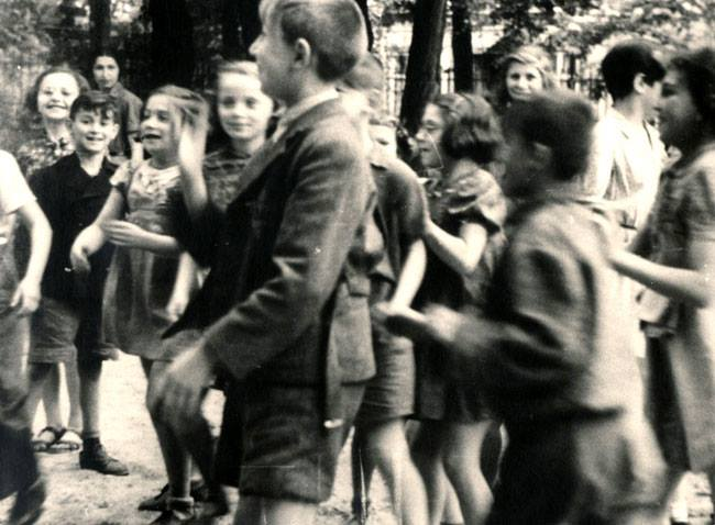 Children in Theresienstadt Ghetto photographed by the Red Cross