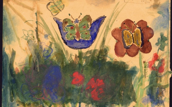 """I never saw another butterfly"" - Children's art from Terezin"
