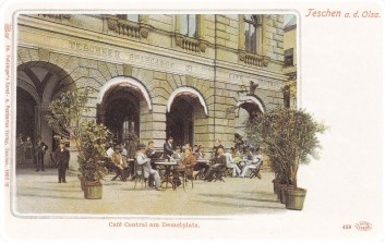 Cafe Central, Demelplatz