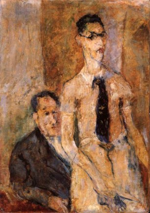 Self Portrait with Father