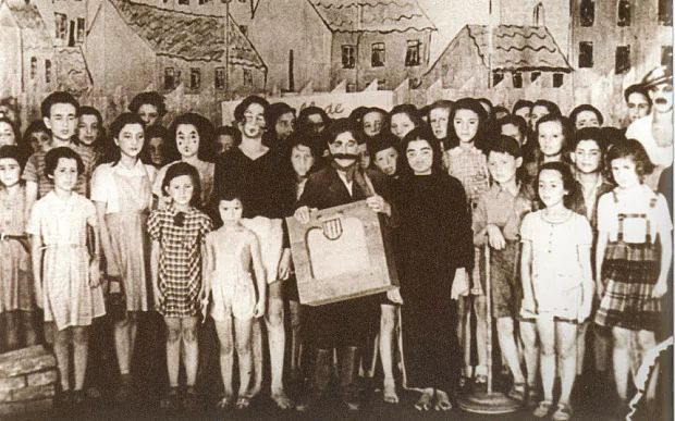 The opera Brundibar was performed by Jewish children at Theresienstadt