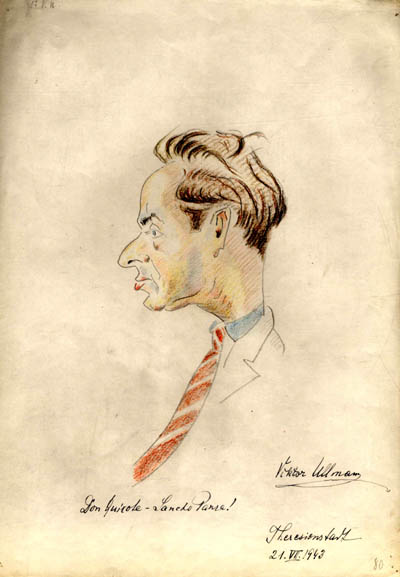 Caricature by Max Placek