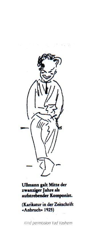 "cartoon in the magazine ""Anbruch"" 1925"