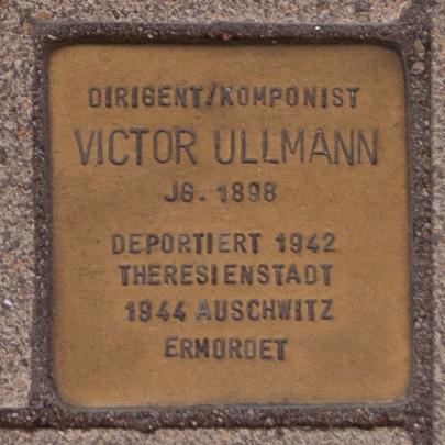 VIktor Ullmann's headstone